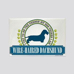 Dachshund [wire-haired] Rectangle Magnet